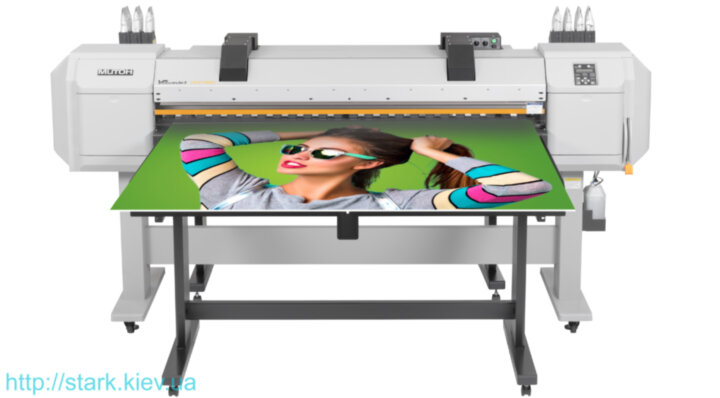 Mutoh ValueJet 1627MH Hot Air Hybrid Printer